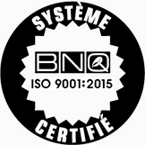 Certification BNQ ISO 9001:2015