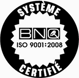 Certification BNQ ISO 9001:2008