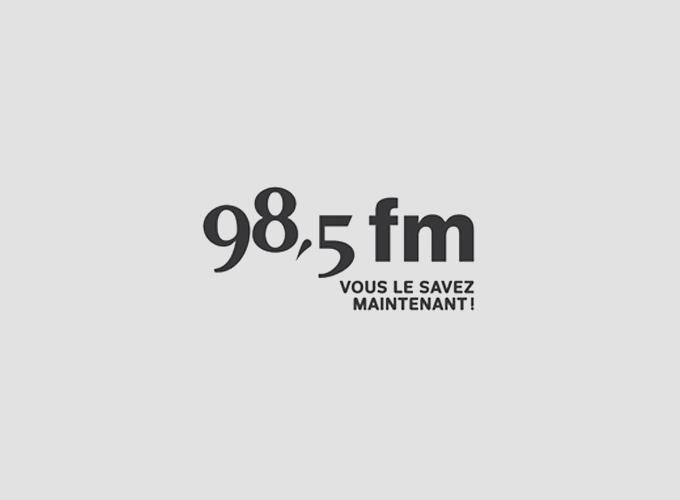 Logo 98,5 fm