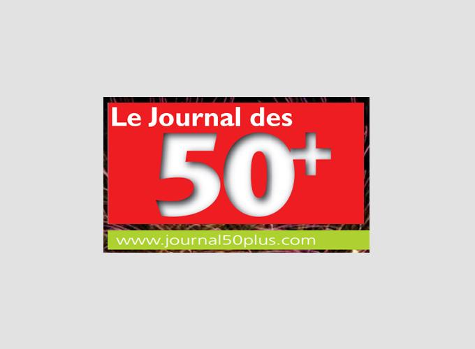 Logo Le Journal des 50+