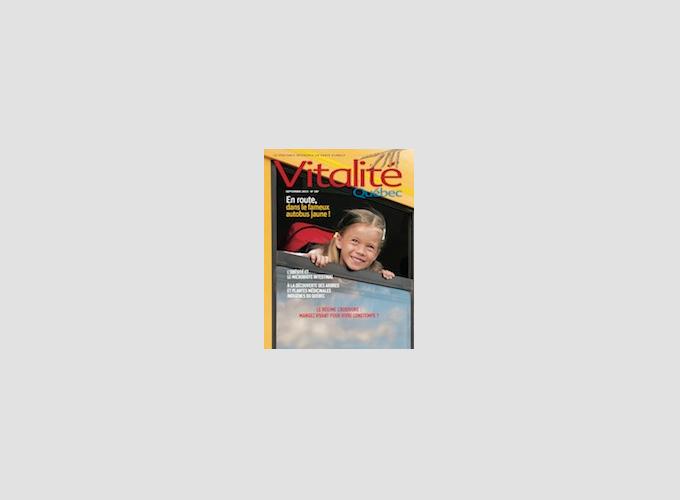 Page couverture de Vitalité Québec
